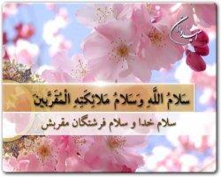 سلام الله و سلام ملائکه المقربین