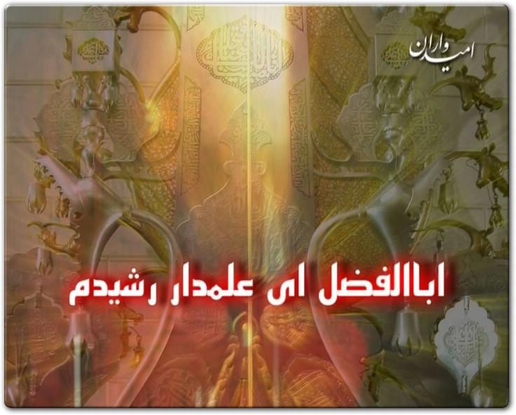 قصه اشک: ابوالفضل ای علمدار...